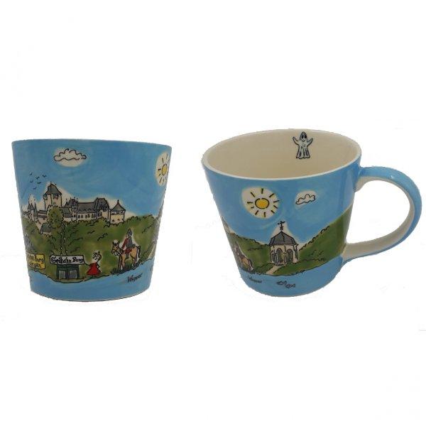 Schloss Burg Kaffeetasse: